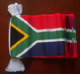 South Africa Bunting, rectangular, 9 metre.